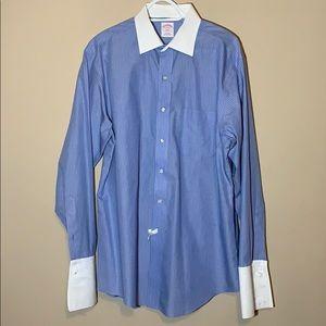 Brooks Brothers 346 White Collar Dress Shirt - EUC